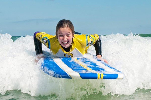 Learn To Surf Lesson For Two At Harlyn Surf School