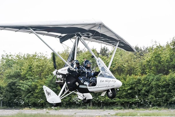 20 Minute Introductory Microlight Flight For One