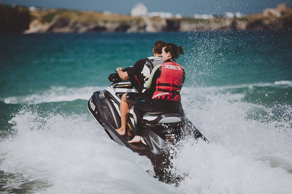 An Hour Open Water Jet Ski Experience for One