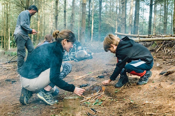 24 Hour Adult And Child Survival Experience With Bear Grylls Survival Academy