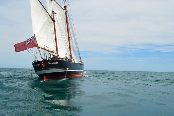 Two Hour Sailing Trip on a Tall Ship in Dorset for Two