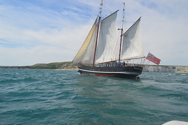 Four Hour Sailing Trip on a Tall Ship in Dorset for Two