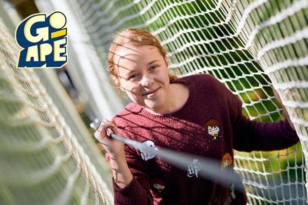 Treetop Adventure Plus for One at Go Ape