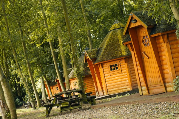 Two Night Break in a Cabin With Bike Hire for Two Adults and Two Children