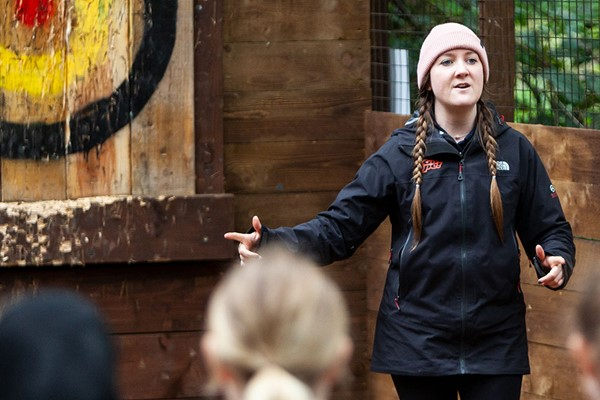 Axe Throwing at Go Ape for One Adult