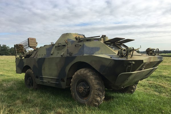 Military Vehicle Driving Experience for One