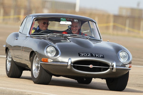Jaguar E Type Driving Thrill