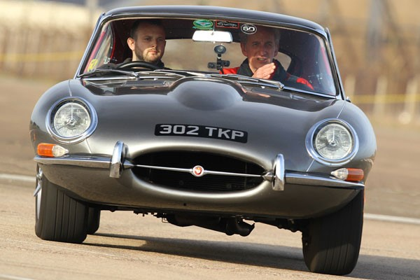 E Type Jaguar Driving Thrill for One