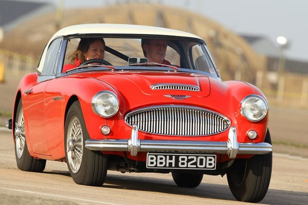 Austin Healey 3000 Driving Thrill