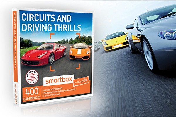 Circuits and Driving Thrills - Smartbox by Buyagift