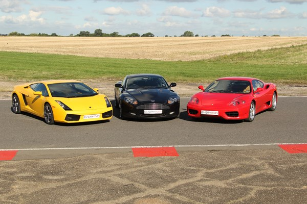 Triple Supercar Driving Blast with High Speed Passenger Ride in Surrey