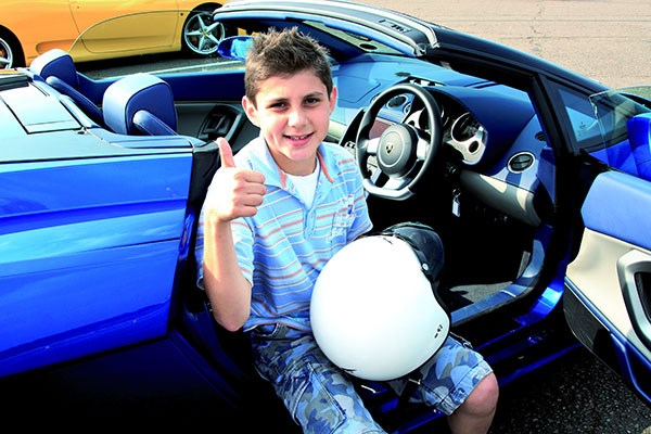 Junior Double Supercar Driving Thrill with Passenger Ride and Free Photo