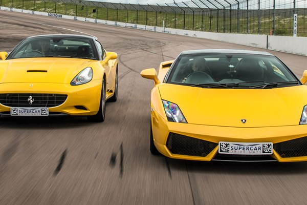 Double Supercar Driving Blast with Free High Speed Passenger Ride
