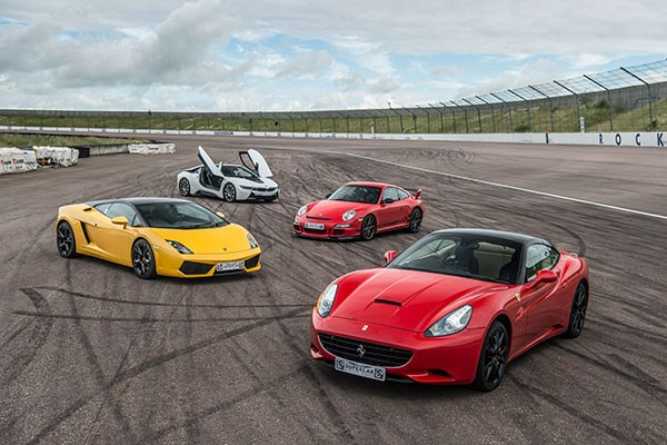 Four Supercar Driving Blast with High Speed Passenger Ride – Week Round