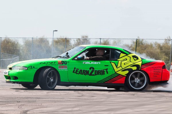 Click to view details and reviews for Half Day Drifting Class With 3 Passenger Laps.