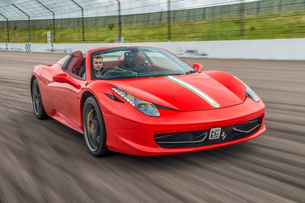 Supercar Thrill with Free High Speed Passenger Ride