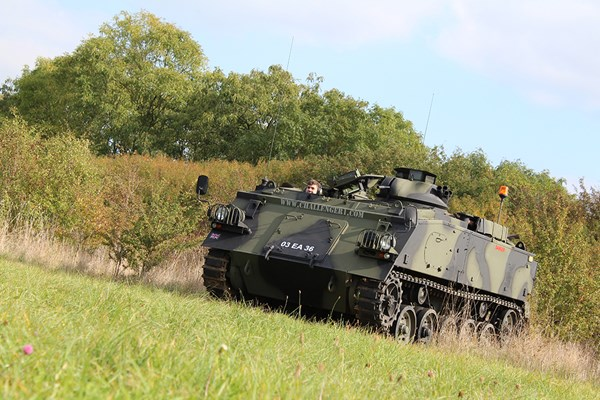 Tank Driving Taster - Special Offer