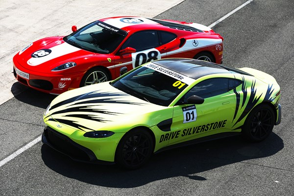 Silverstone Ferrari Vs Aston Martin Early Bird Experience