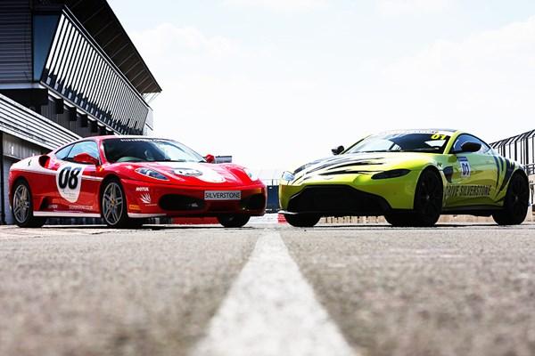 Silverstone Ferrari Vs Aston Martin Driving Experience From Buyagift