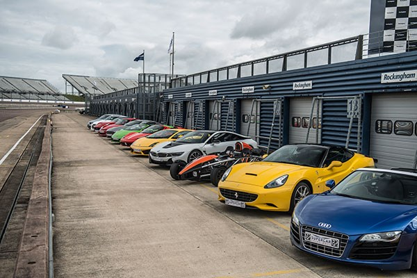 Supercar Driving Thrill at Brands Hatch