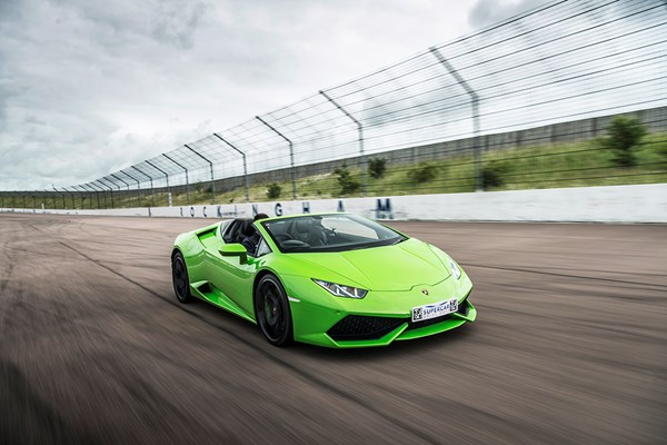 Lamborghini Huracan Driving Thrill with Free High Speed Passenger Ride