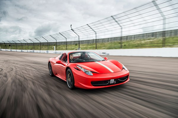 Ferrari 458 Driving Thrill with Free High Speed Passenger Ride