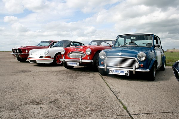 Four Classic Car Driving Thrill