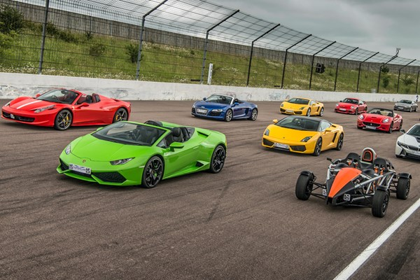 Six Supercar Driving Blast