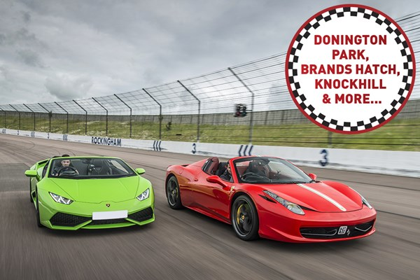 Double Supercar Driving Blast at a Top UK Race Track