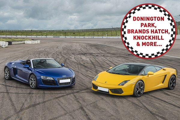 Double Supercar Driving Thrill at a Top UK Race Track