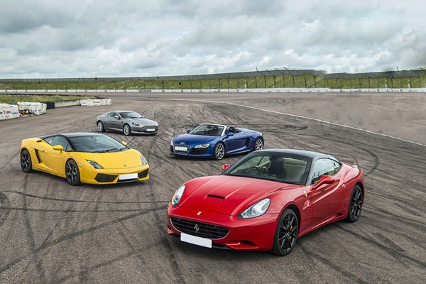 Four Supercar Driving Thrill at a Top UK Race Track