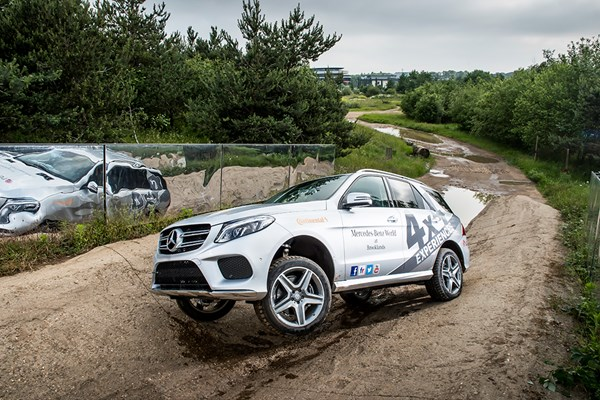 mercedes-benz world 4x4 pro-driver experience from buyagift