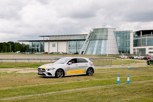 Mercedes-Benz World Young Driver Track Experience