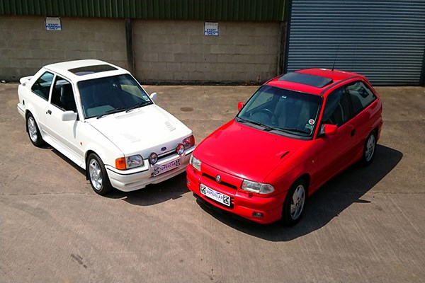 Double 80s Hot Hatch Legends Driving Experience