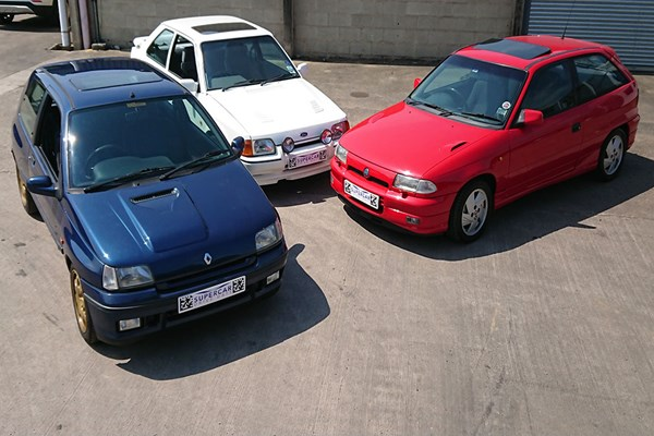 Triple 80s Hot Hatch Legends Driving Experience