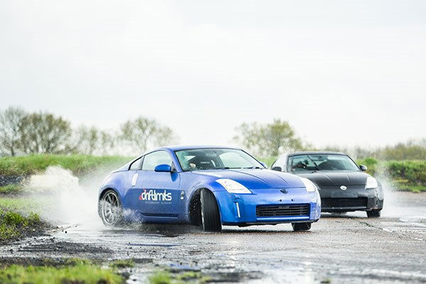 Nissan 350z Bronze Drift at Drift Limits