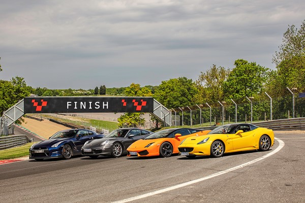 Four Supercar Driving Blast in Scotland