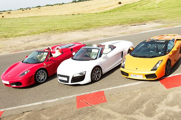 Triple Supercar Thrill for One at Goodwood