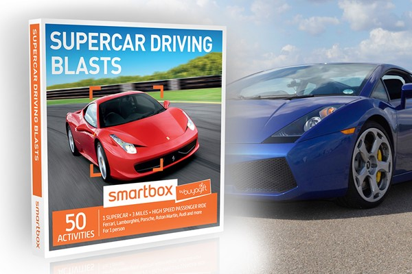 Supercar Driving Blasts - Smartbox by Buyagift
