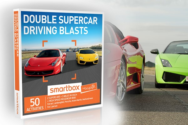 Double Supercar Driving Blasts - Smartbox by Buyagift