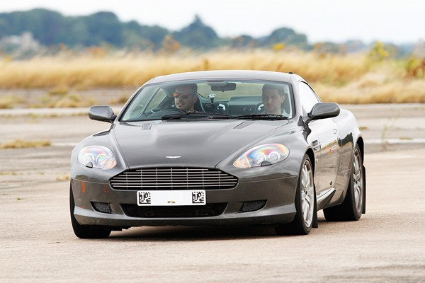 Double James Bond Driving Experience for One