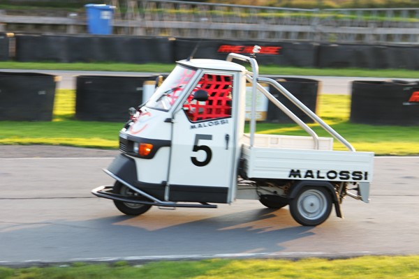 Piaggio Ape Racing for Two in Hertfordshire