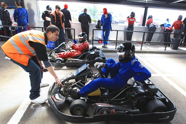 Weekday Grand Prix Karting for Two at Rye House Karting