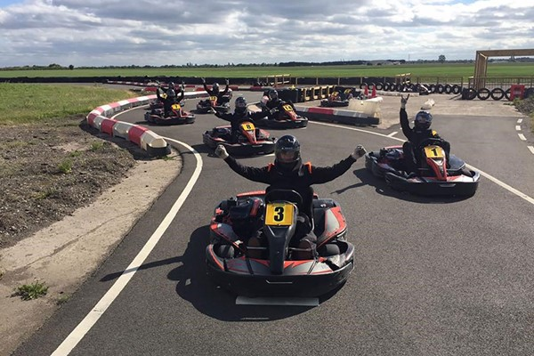 One Hour Go Karting for Two at Raceway Kart Centre