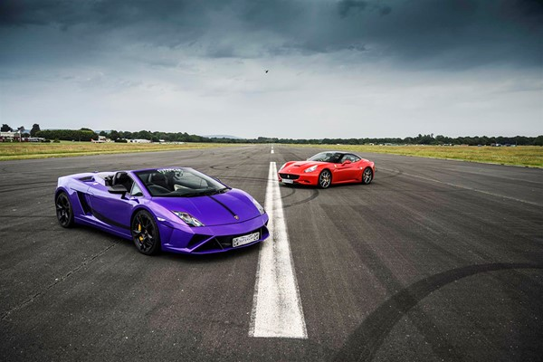 Double Supercar Driving Blast