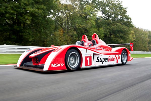 SuperRide in a Le Mans Sports Car at Brands Hatch or Oulton Park for One