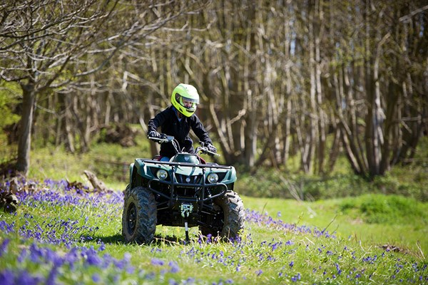 90 Minute Quad Biking Thrill for Two People