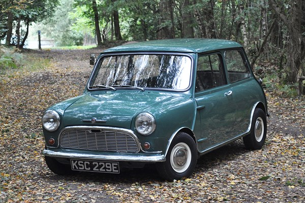 Classic Mini Driving Experience with Afternoon Tea for Two