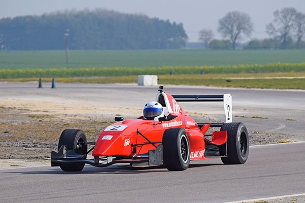 Six Lap Formula Renault Race Car Driving Experience for One