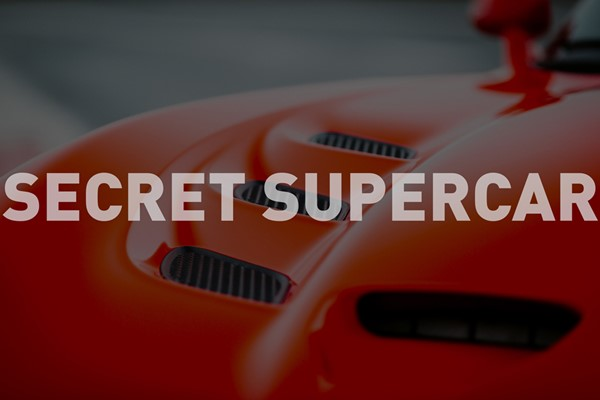 Triple Secret Supercar Experience for One